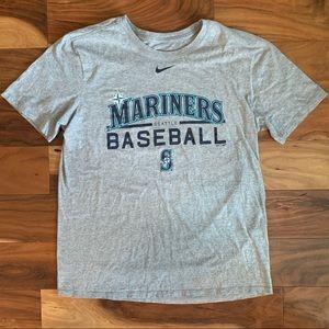 Nike MLB Seattle Mariners T Shirt. Size Large